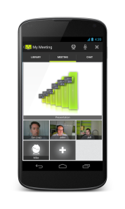 ISL Groop Web Conferencing app now on Android