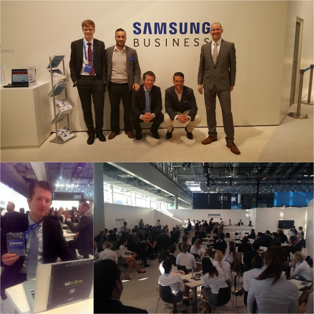At CeBIT 2015, ISL Online is co-exhibiting with Samsung to showcase one of the best remote access apps for the Android platform.