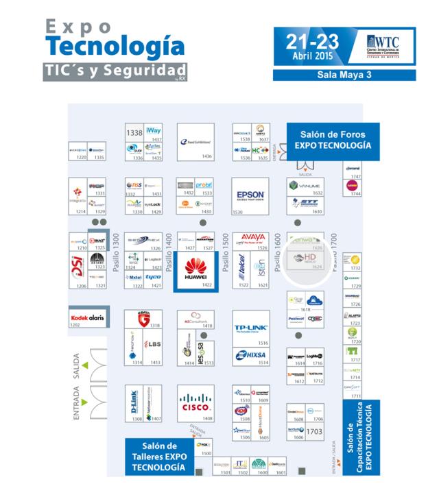 Expo Tecnología Ciudad de Mexico 2015