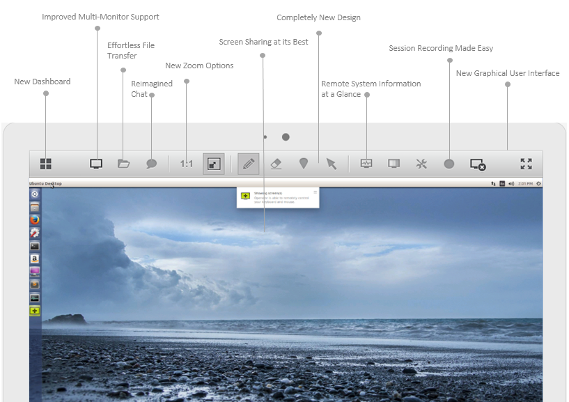 ISL Light for Linux gets all the latest remote desktop
