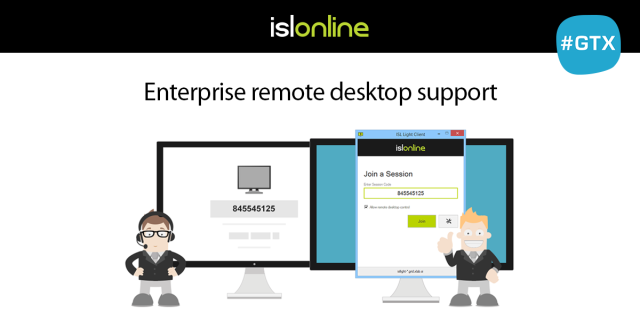 Enterprise remote desktop support software at GITEX