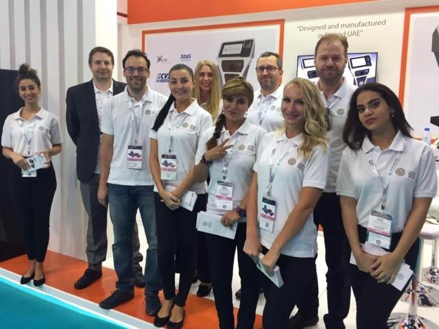 ISL Online Remote Desktop showcases at GITEX 2016 in Dubai with Arabian Business Solutions