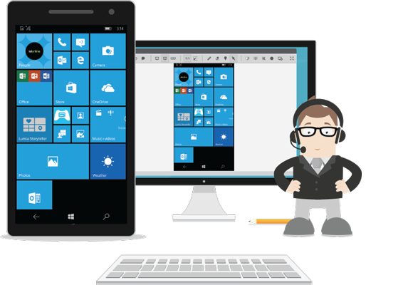 ISL Online is proud to announce a remote support app ISL Light Client for Windows 10 Mobile devices intended for professional tech support of Windows devices.