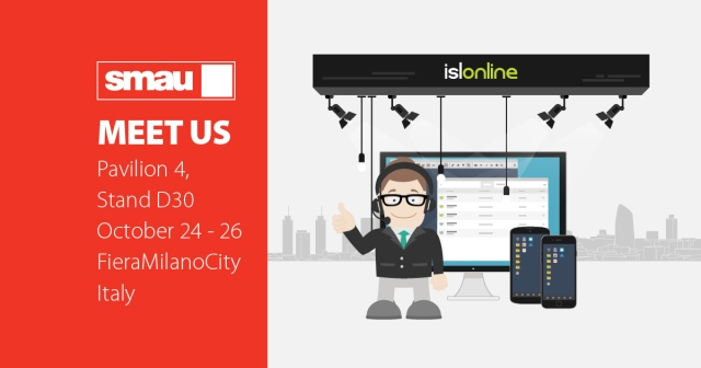 Meet us at SMAU Milano