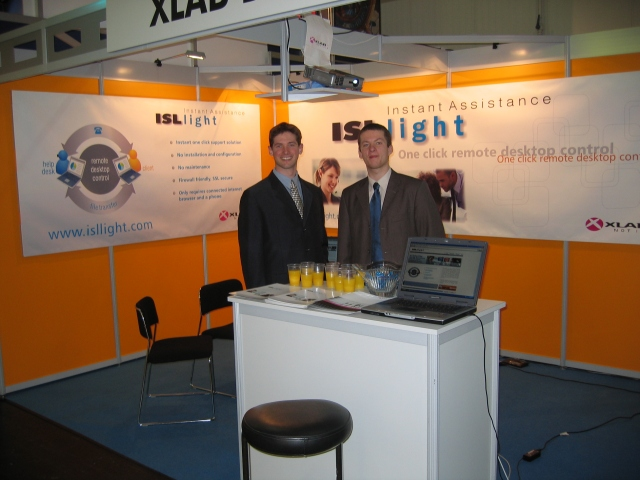 ISL Online at CeBIT 2005