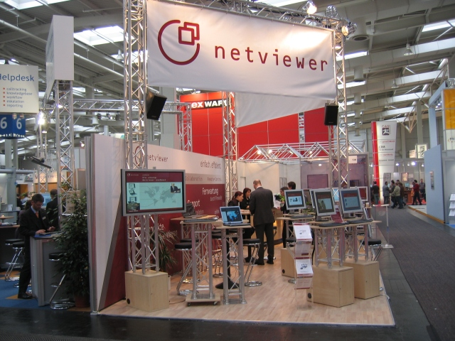 Netviewer at CeBIT 2005
