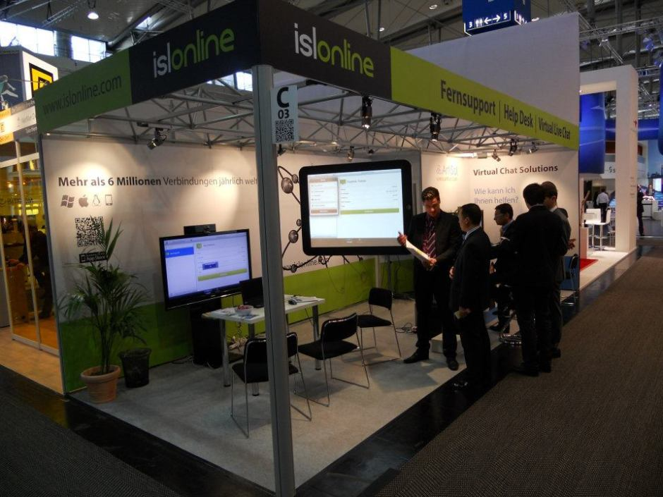 ISL Online at CeBIT 2012