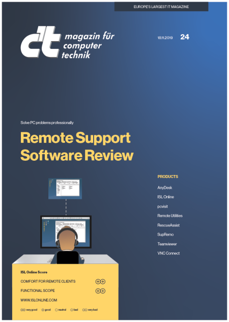 c't remote desktop test