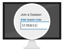 Share a session code