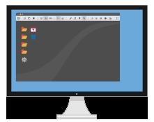 Control remote desktop